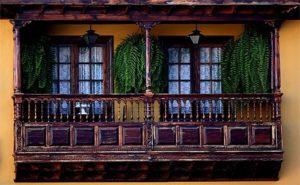 Tenerif balcons en bois